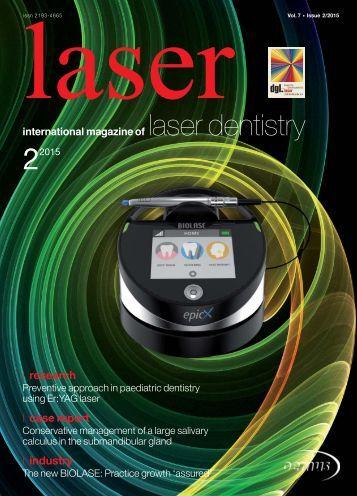 laser - international magazine of laser dentistry