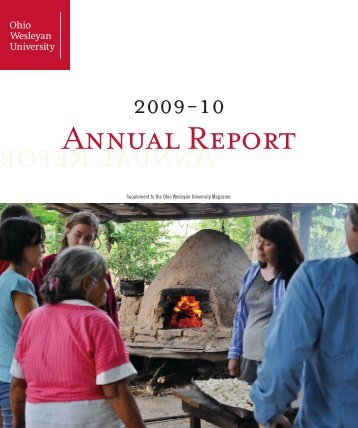 Annual Report Annual Report - Ohio Wesleyan Magazine - Ohio ...