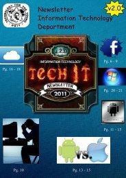 Newsletter Information Technology Department v2.0 - dbit moodle ...