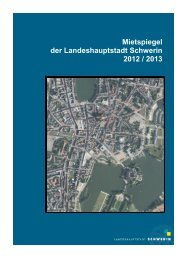 Mietspiegel 2012/2013 - Schwerin