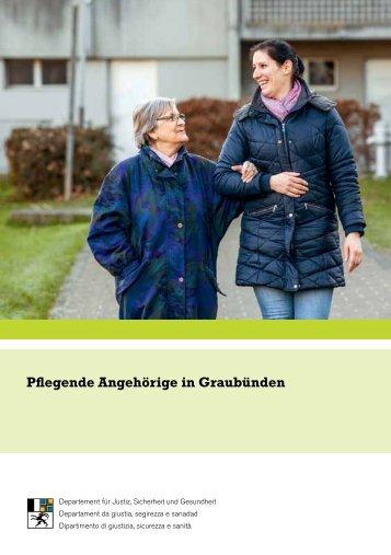 Pflegende Angehörige in Graubünden