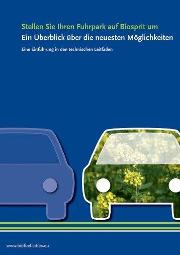 Biofuel cities - DE