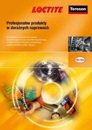 Profesjonalne produkty w doraźnych naprawach - Loctite