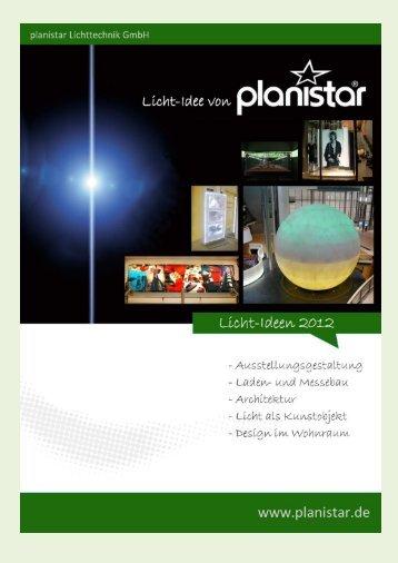 Untitled - planistar Lichttechnik GmbH