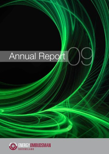 2008-09 Annual Report - Energy and Water Ombudsman Queensland