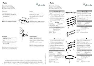 OnAir OnAir - Planlicht