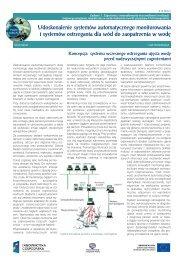 Udoskonalenie systemów automatycznego monitorowania i ... - klimat