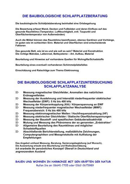 Beckmann Baubiologie Um