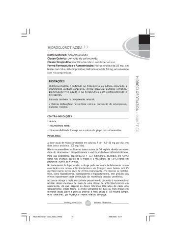 Hidroclorotiazida - Farmanguinhos - Fiocruz