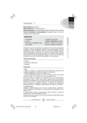 Diazepam - Farmanguinhos - Fiocruz