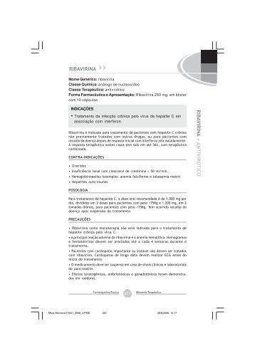 Ribavirina - Farmanguinhos - Fiocruz
