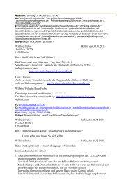 Wilfried Frehse Berlin, den 30.09.2011 Postfach ... - Bplaced.net