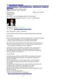 Wilfried Frehse Berlin, den 13.12.2009 Postfach ... - Bplaced.net