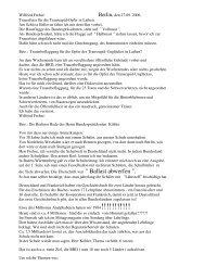 Wilfried Frehse Berlin, den 27.09. 2006, Trauerfeier für die ...