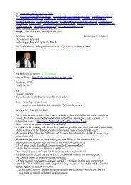 Wilfried Frehse Berlin, den 12.102009 Der einzige ... - Bplaced.net