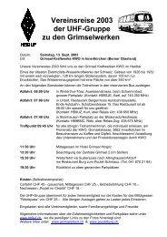 Vereinsreise 2003 der UHF-030913.pdf - UHF-Gruppe der USKA