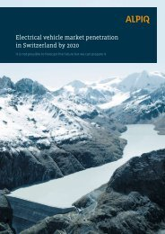 Electrical vehicle market penetration in Switzerland ... - Park & Charge