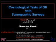 Cosmological Tests of GR with Tomographic Surveys - PPC 2010