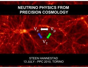 Cosmic neutrinos - PPC 2010