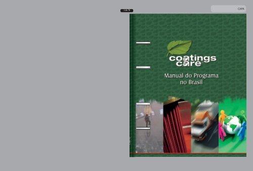 Manual do Programa Coatings Care - Abrafati