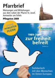 Pfarrbrief Pfingsten 2009 - Kirche Annweiler