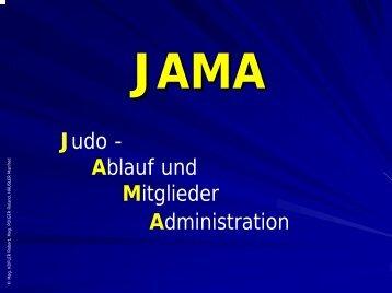 JAMA Verein - Judo Landesverband Niederösterreich