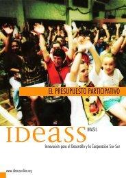EL PRESUPUESTO PARTICIPATIVO - Ideassonline.org