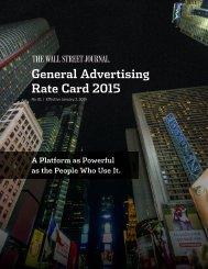 Newspaper Global Rates 2015