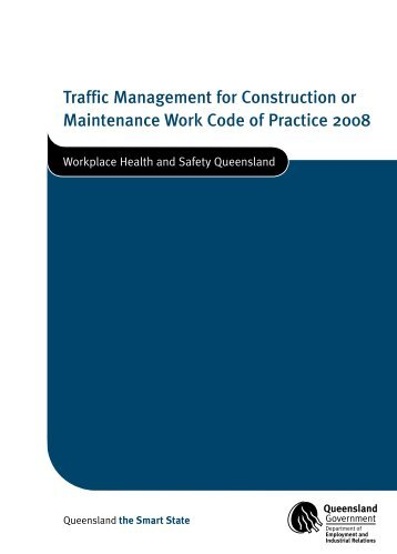 Traffic Management for Construction or Maintenance Work Code of ...