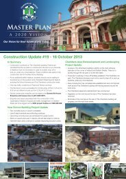 MAStER PlAN - Somerville House