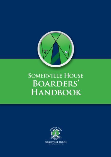 Boarders' Handbook - Somerville House