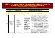 Κείμενο κριτηρίων - Εκπαίδευση και Δια Βίου Μάθηση