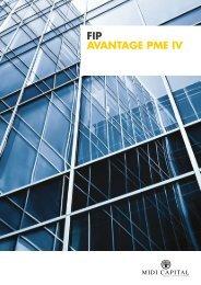 FIP AVANTAGE PME IV - Site indisponible - Autorité des marchés ...