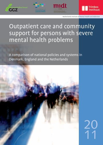Outpatient care and community support for persons with ... - Trimbos