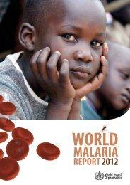 MALARIA - World Health Organization