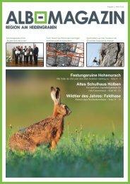 Albmagazin - Ausgabe Heidengraben 1/2015