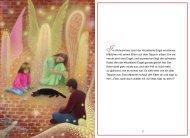 Im Wohnzimmer sieht der klitzekleine Engel ein kleines Mädchen ...