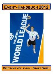 DVS-Event-Handbuch 2012 - Deutscher Volleyball-Verband