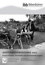 gastgeberverzeichnis 2012 - Deutscher Volleyball-Verband