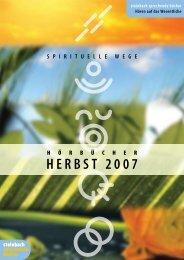 herbst 2007 - Steinbach Sprechende Bücher