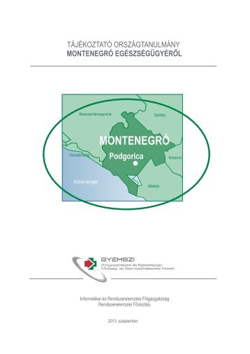 montenegró egészségügyérõl - ESKI