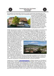 Bericht Sommertreffen Rover Club Schweiz Juni 2013