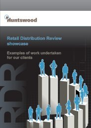 Download our RDR brochure - Huntswood
