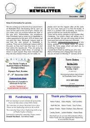 December - Edinburgh Diving Club