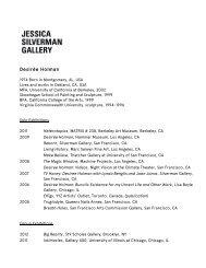 Desirée Holman - Jessica Silverman Gallery