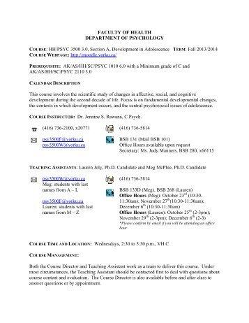 Psychology 342 adolescence jean e rhodes phd development in adolescence department of psychology york fandeluxe Images