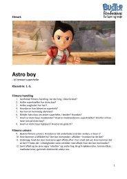Elevark til 'Astro Boy' - Buster.dk