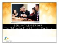 Conference Servant Leadership Session - Greenleaf Center for ...