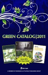 GREEN CATALOG|2011 - Bernan