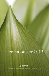 green catalog 2012 - Bernan